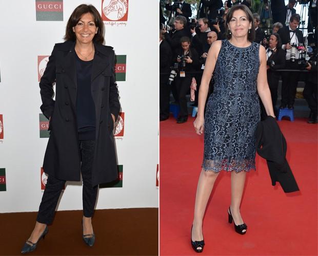 Anne Hidalgo, a prefeita de Paris que tem uma 'quedinha' pela moda. (Foto: Getty Images)