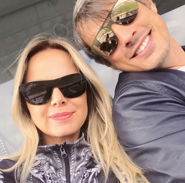 Adriano Ricco e Eliana (Foto: Reprodução)