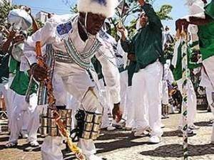 Festa do Congado completa 136 anos de realização em Uberlândia, MG (Foto: Eduardo Ramos/Arquivo pessoal)