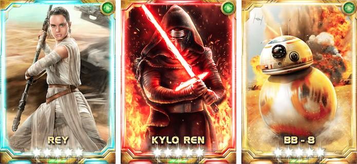 Star Wars: Force Collection recebe cartas comemorativas do novo filme Star Wars: O Despertar da Força (Foto: Divulgação/Konami)