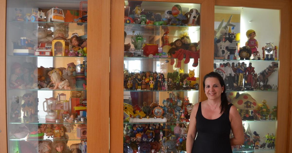 Colecionadora de brinquedos de São Carlos possui mais de seis mil itens