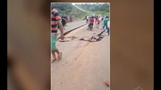 Transamazônica segue interditada pelo segundo dia no sudoeste do PA