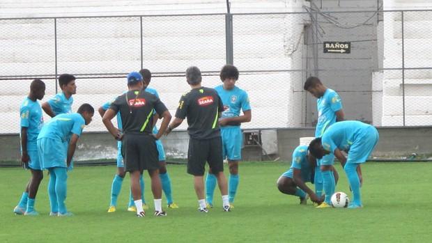 Treino Seleção Sub-20 (Foto: Marcelo Baltar / Globoesporte.com)