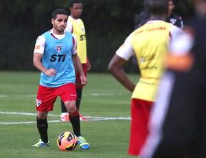 Douglas jogadores treino São Paulo (Foto: Rubens Chiri / saopaulofc.net)