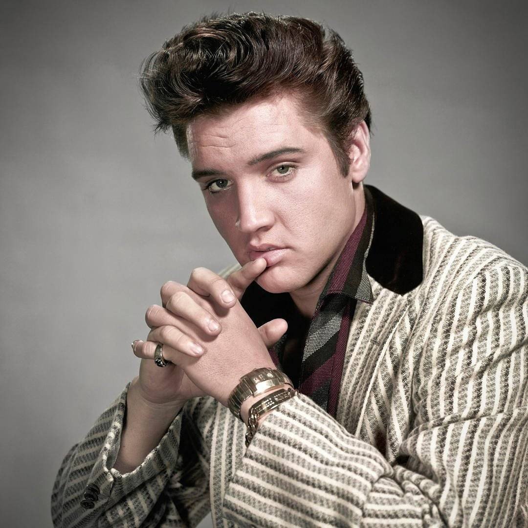 Elvis Presley, o Rei do Rock (Foto: Reprodução/Instagram)