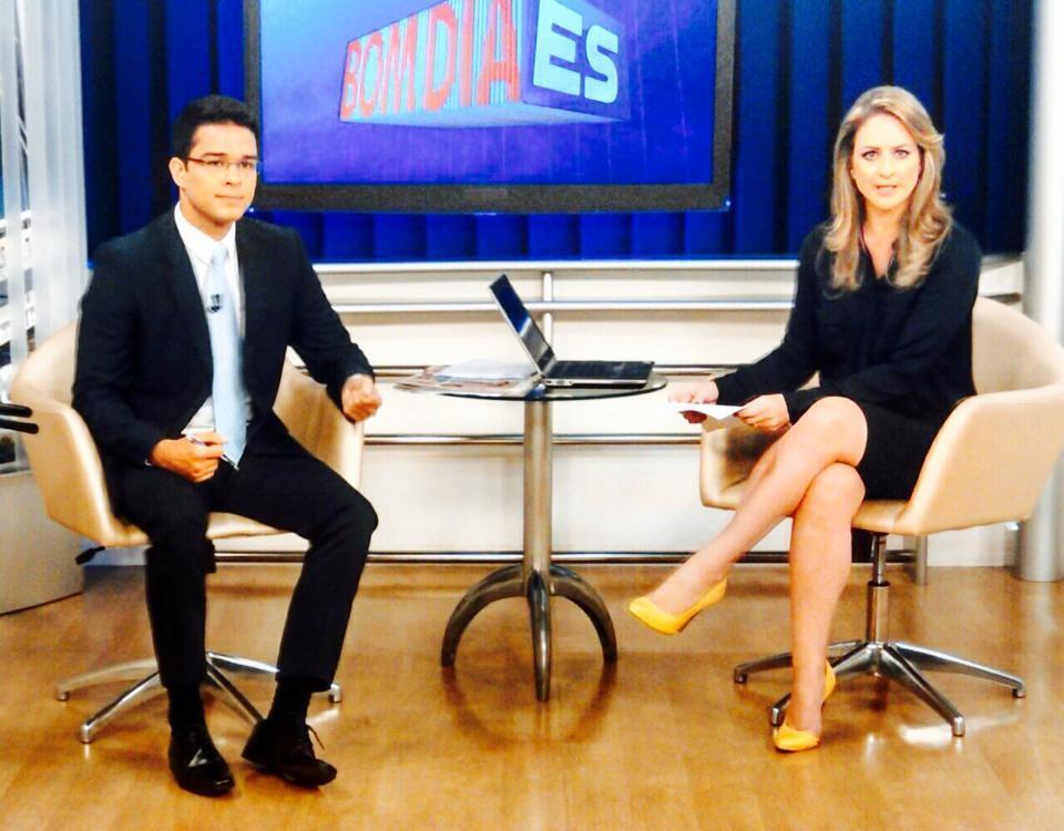 Andressa Missio com Philipe Lemos (Foto: Arquivo Pessoal)