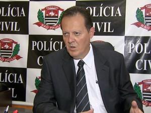 Delegado Geraldo Souza Filho alerta sobre cuidados com pagamento de IPVA (Foto: Reprodução/ EPTV)
