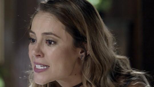 Melissa é cruel com Alex: 'Você tá traindo a sua mãe'