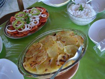 Bacalhau à moda de queijo é um dos principais pratos mais pedidos (Foto: Flávio Antunes/G1)