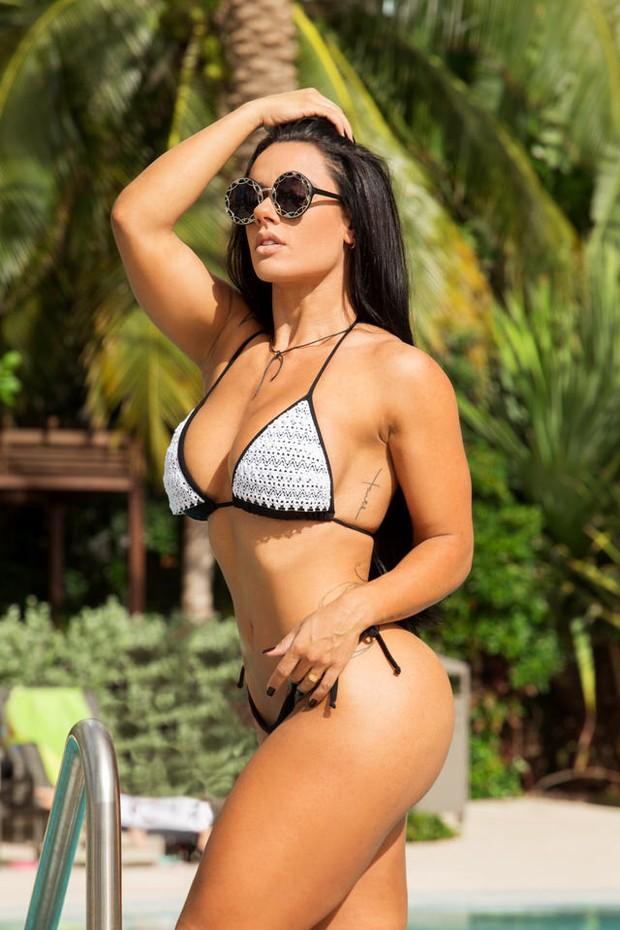 Diva Fitness, Sue Lasmar está no Brasil  (Foto: Fabiano Rodrigues/ MF Assessoria )
