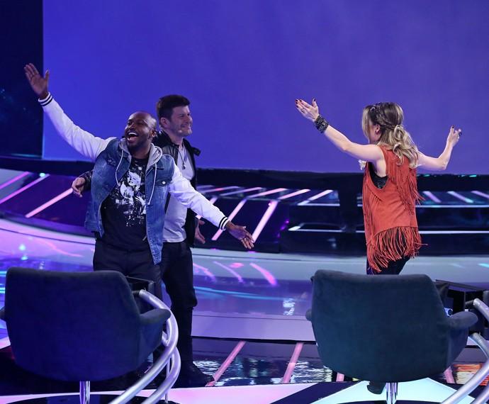 Thiaguinho quer é ver a plateia animada e dançando também (Foto: Isabella Pinheiro/Gshow)
