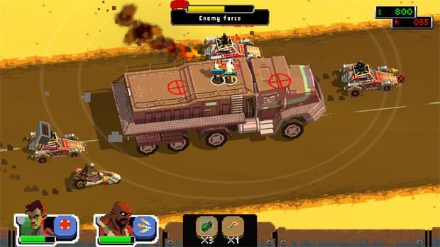 'Dog duty' tem mundo aberto em game parecido a 'Comandos' (Foto: Divulgação)