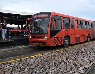 Paraná TV 1ª Edição Greve de ônibus (Foto: Reprodução/ RPC TV)