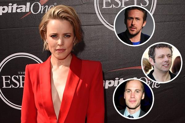 Rachel McAdams, Ryan Gosling, Michael Sheen e Taylor Kitsch (Foto: Getty Images)
