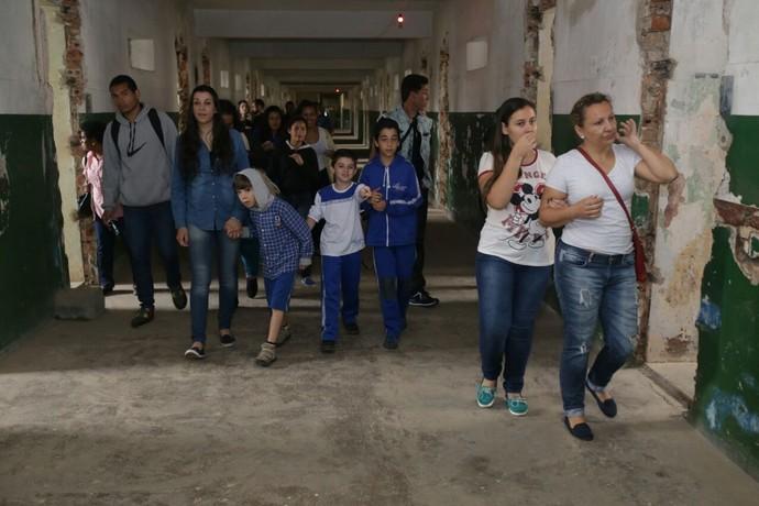 Experiência 'Supermax' no Presídio do Ahú, em Curitiba (Foto: Luiz Renato Corrêa / RPC)