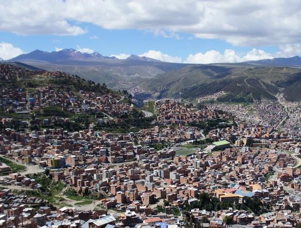 inter the strongest la paz cidade ambiental bolívia libertadores (Foto: Diego Guichard / GLOBOESPORTE.COM)