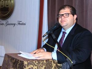Presidente do Instituto dos Advogados do Amapá, Alessandro Brito (Foto: Ascom/Iaap)
