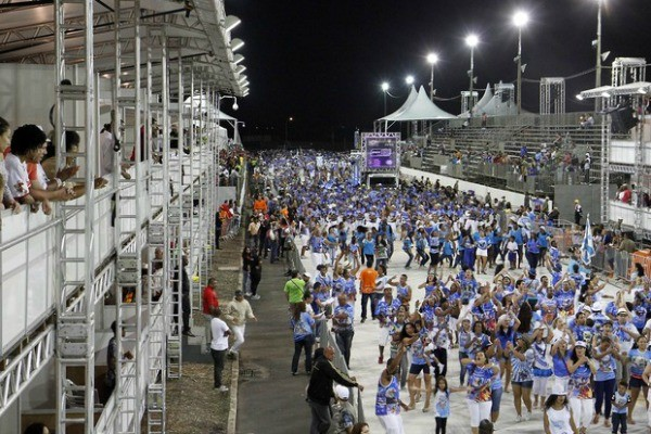 Porto Seco recebe escolas de samba a partir de sexta-feira (Foto: Ivo Gonçalves/PMPA)