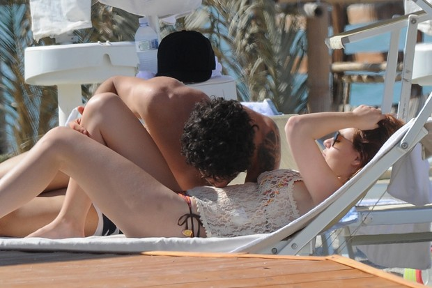 Alexandre Pato e Barbara Berlusconi (Foto: Agência/ Grosby Group)