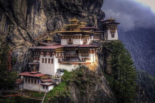 Butão, Ásia (Foto: Reprodução / House Beautiful)
