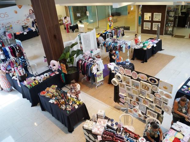 Shopping Valinhos oferece atividades gratuitas para crianças até o dia 13  (Foto: Evelyn Gregório )
