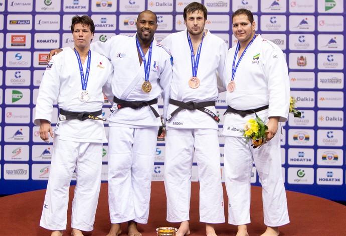 Rafael Silva Baby medalha mundial judô (Foto: Rafal Burza / CBJ)