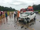 Colisão entre carros deixa feridos na rodovia Manoel Urbano, no AM