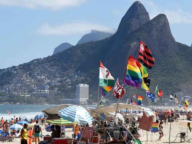 Cidade do Rio foi eleita como o melhor destino de praia LGBT da América Latina (Foto: Divulgação / Riotur / Alexandre Macieira )