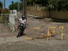 Motociclistas sobem em calçada e colocam pedestres em risco no RS