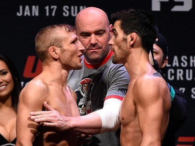 TJ Dillashaw Dominick Cruz UFC Boston (Foto: Getty Images)