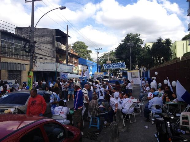 Portela elege presidente para os próximos três anos. (Foto: Luís Bulcão/G1)