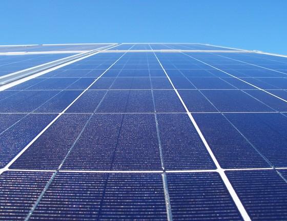 Usina solar em Votuporanga (Foto: Ascom de Votuporanga-Wikimedia)