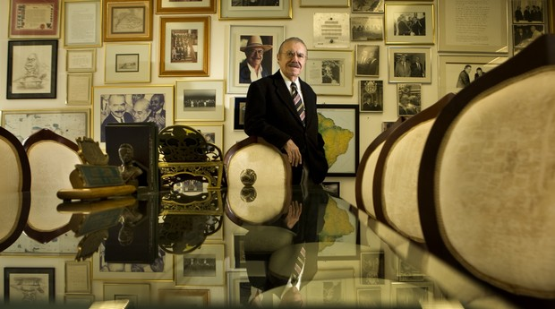 José Sarney (Foto: Anderson Schneider/Editora Globo)