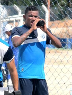 Luis Soares CSA (Foto: Leonardo Freire/GloboEsporte.com)