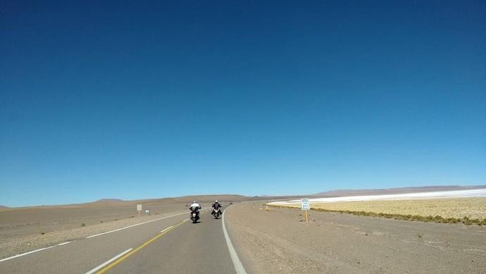 Caminho Entre São Pedro do Atacama e San Salvador Jujuy (Foto: Istepôs Aventureiros/Divulgação)