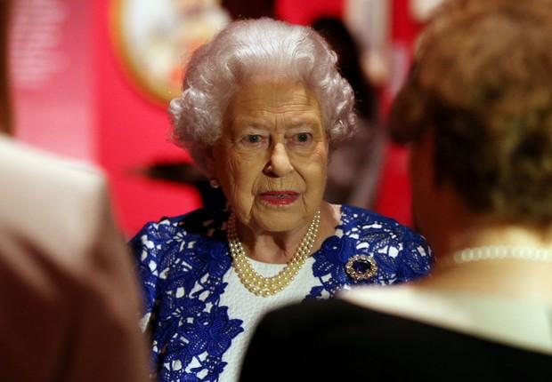 A rainha Elizabeth II participa de evento em Londres (Foto: Jonathan Brady/WPA/Getty Images)