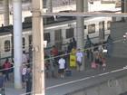 De 5 ramais de trens do Rio, somente 2 têm sistema automático de freios