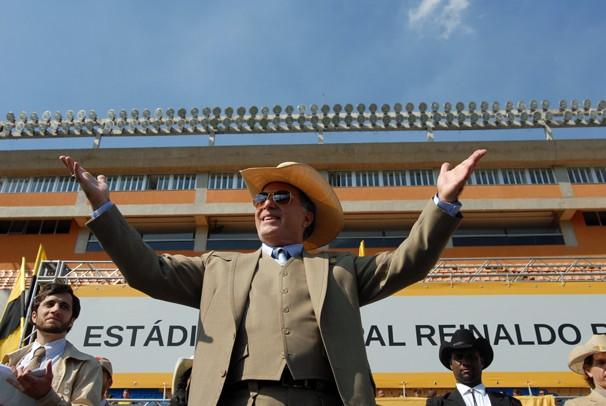 Tony Ramos de volta! (Foto: Zé Paulo Cardeal/Globo)