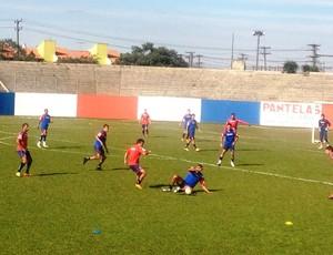 Paraná treino (Foto: Globoesporte.com)