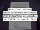 Ministro do TSE determina acareação entre três delatores da Odebrecht