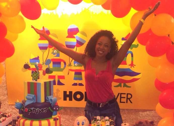 Negra Li comemora aniversário em parque de diversões (Foto: Arquivo Pessoal)