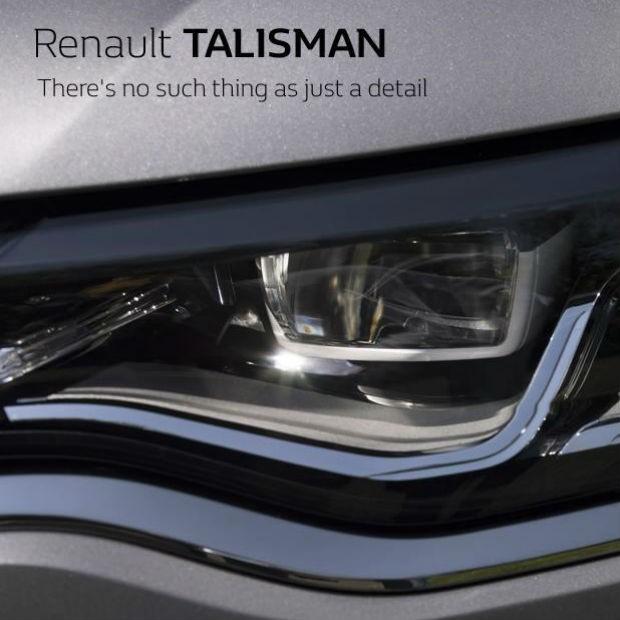 Renault revela mais detalhes sobre o sedã Talisman (Foto: Divulgação)