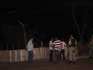 Polícia quer saber alcance do disparo que atingiu a vítima (Foto: Patrícia Andrade/G1)