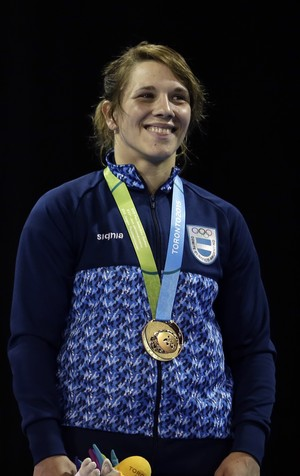 Luz Vazquez Argentina Pan doping (Foto: AP Photo/Gregory Bull)