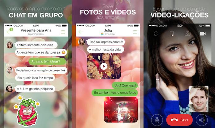 ICQ está de volta e com muitos recursos (Foto: Divulgação/AppStore)
