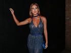 Marina Ruy Barbosa usa look decotado em festa e fala de cenas nua
