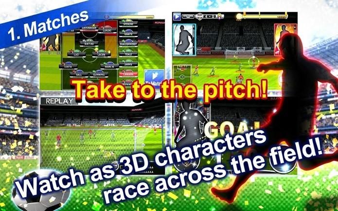 PES Manager é o jogo da Konami sobre administração de clubes (Foto: Divulgação)