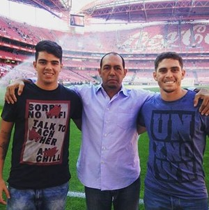 Isaías, Benfica (Foto: Reprodução/ Facebook)