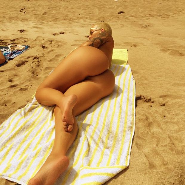 Amber Rose (Foto: Reprodução/Instagram)