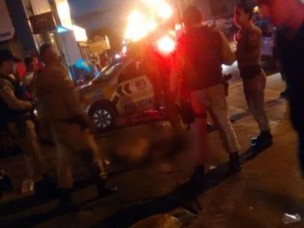 Crime aconteceu em avenida de Araguaína (Foto: Divulgação)